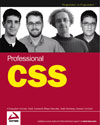 The cover of our book, Professional CSS